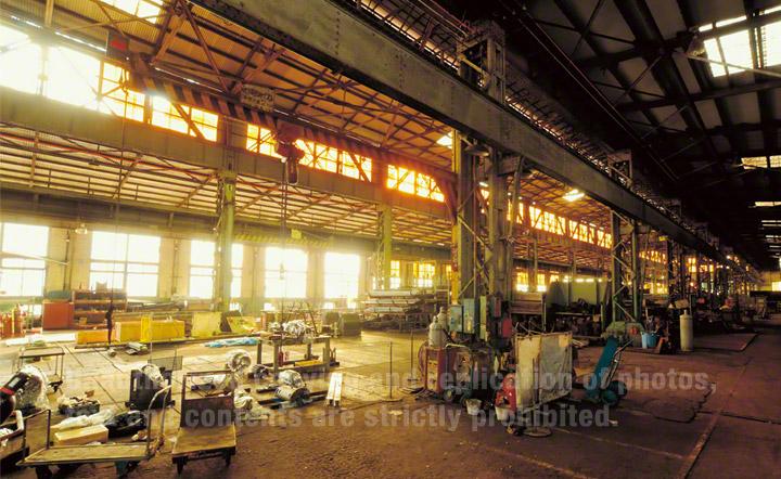 Repair Shop of the Imperial Steel Works, Japan.