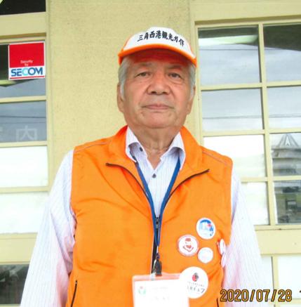 齊藤 万芳 氏(さいとうまんぽう)