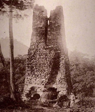 萩反射炉古写真(1921年)