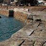 三角西(旧)港の埠頭。