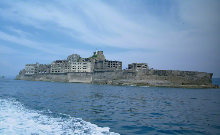 端島全景。