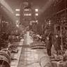 1910年当時の官営八幡製鐵所修繕工場内部。